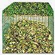 Composteur jardin conteneur m�tallique jardin composteur de fil