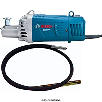 Concrete vibrator for a electric drill