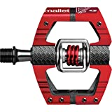 Crank Brothers Mallet E Long Spindle Pedals Red Limited Edition, One Size (Color: Red Limited Edition, Tamaño: One Size)