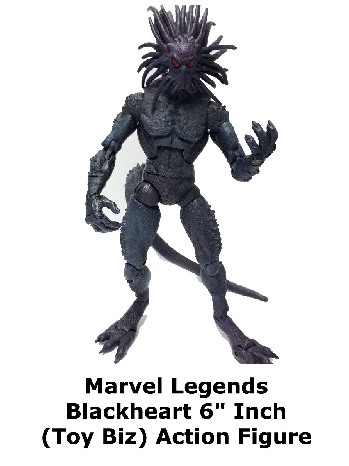 "Review: Marvel Legends Blackheart 6"" Inch (Toy Biz) Action Figure"