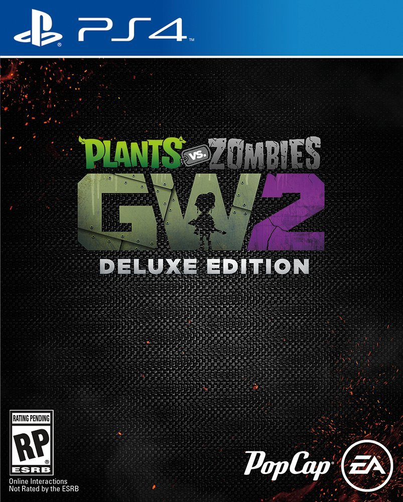 Plants Vs Zombies Garden Warfare 2 Deluxe Edition Ps4 Americas