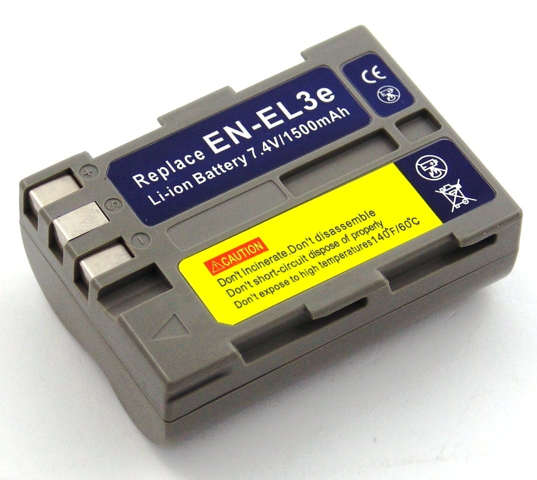Batería compatible con Nikon D100, D200, D300, D300s, D50, D70, D70s, D80, D90, DSLR D700 - Electrónica - Comentarios de clientes