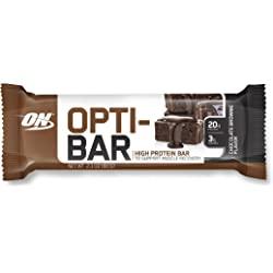 Optimum Nutrition 12-Count Opti-Bar Protein Bar (Chocolate Brownie)