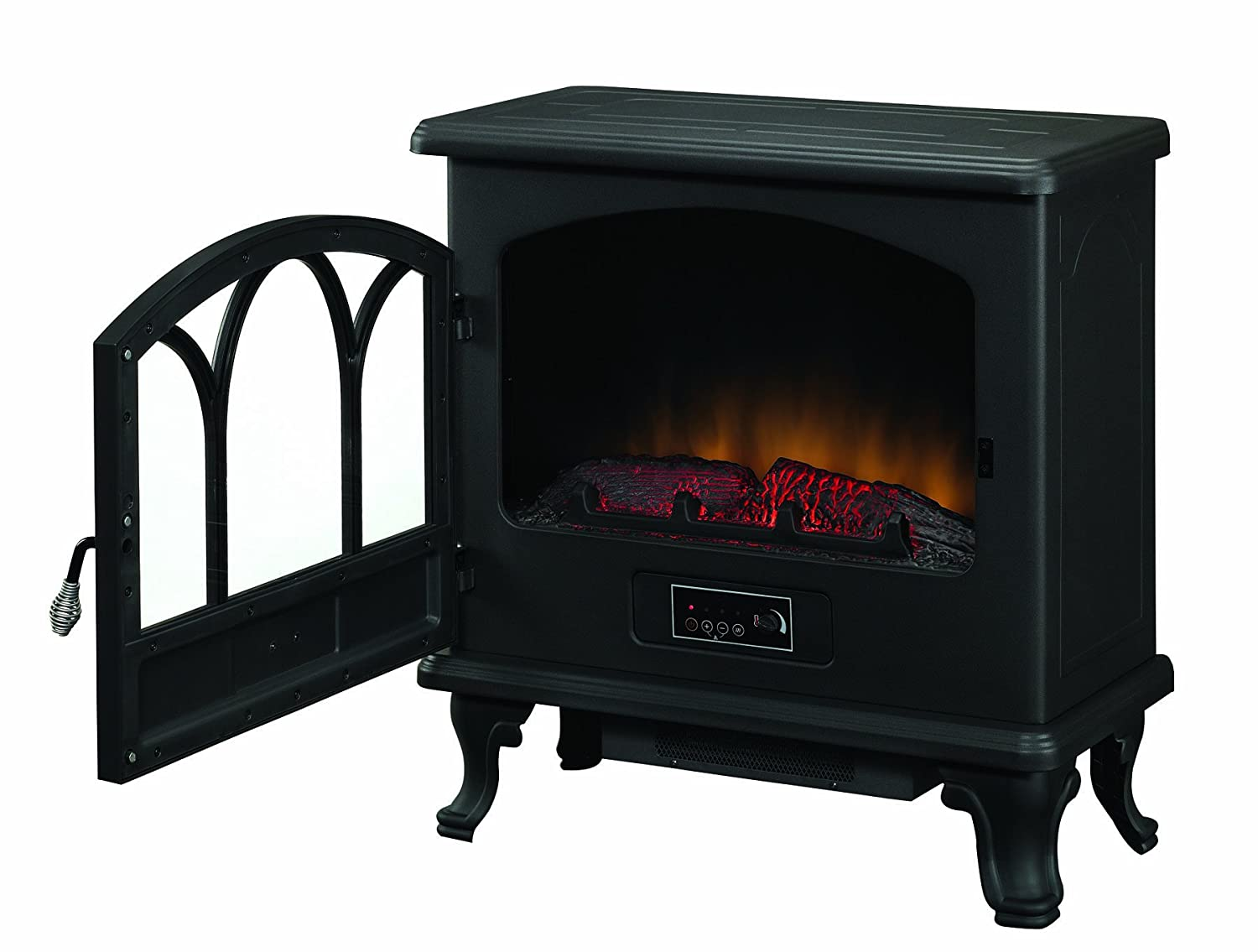 Duraflame Large Stove Heater Black Dfs 750 1 New Free Shipping