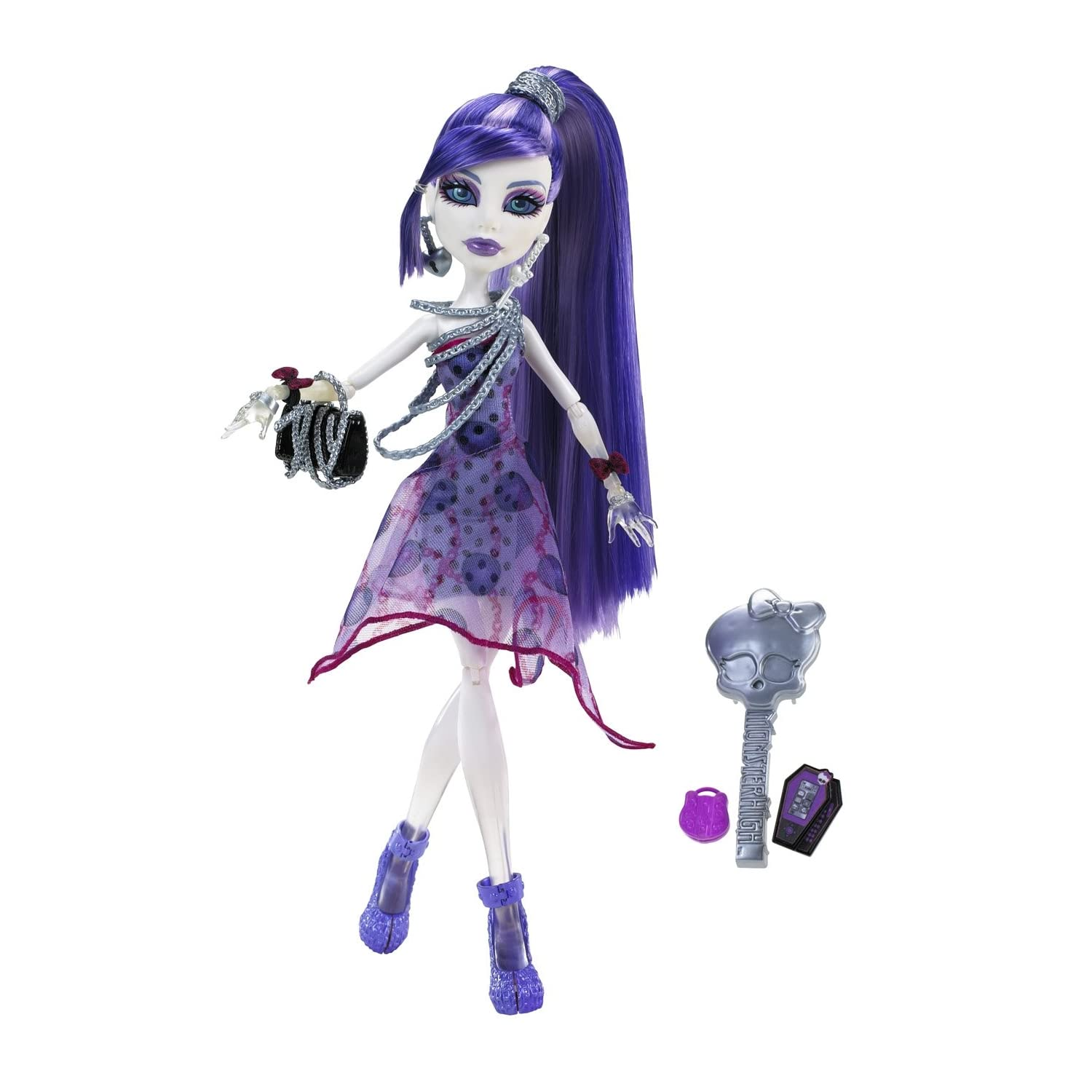 Mu  Eca Monster High Monstruodisco     Spectra Vondergeist