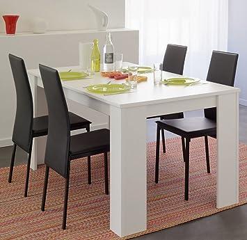 Tischgruppe Essgruppe weiß Karely