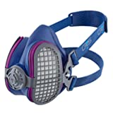 GVS SPR456  Elipse P100 Nuisance Dust Half Mask Respirator with replaceable and reusable filters included (Tamaño: M/L Size)