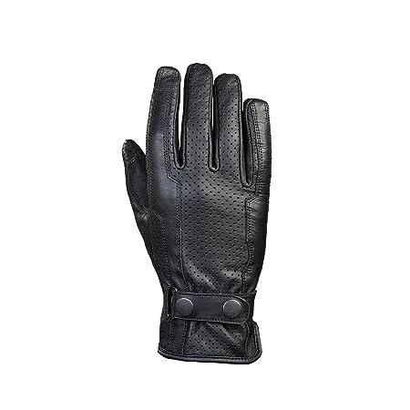 Germas 401. 01-08-Parma S gants pour moto noir taille S :  /
