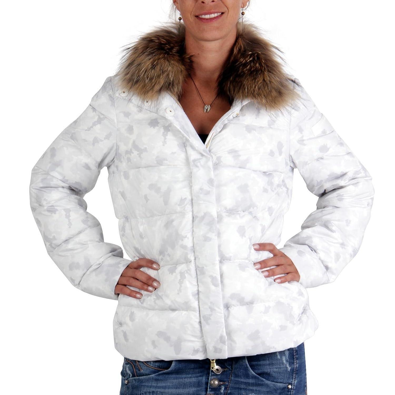 PEUTEREY Damen Winter Daunenjacke Broadway Camouflage White 0966 online kaufen