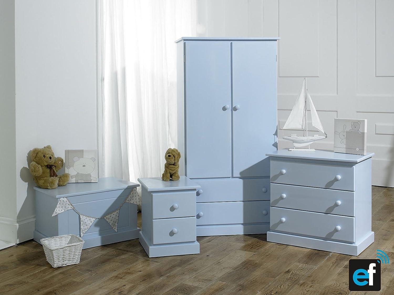 childrens kids ready assembled bedroom furniture blue