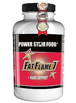 FAT FLAME 7, Dose 150 Kapseln à 650mg, 21 Stoffwechsel aktive Nährstoffe, pflanzliche Kapselhulle, Vegan. Gewichtsmanagement