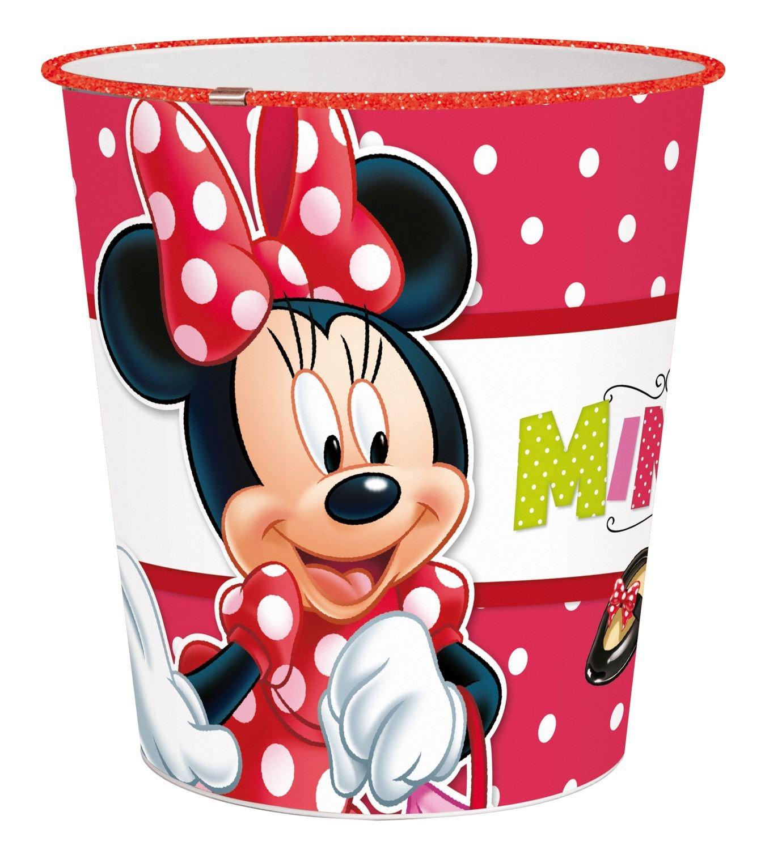 p:os 24681 Papierkorb Disney Minnie Mouse, circa 22,6 x 21 cm, Kunststoff bestellen