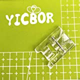 YICBOR SA150 Pearls and Sequins Presser Foot for Brother