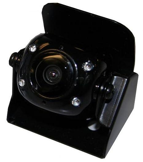 Dietz AVCAM_10B Mini-caméra IP68 de recul avec microphone Noir