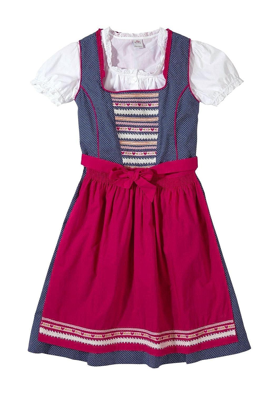 s.Oliver Mädchen Kleid Dirndl, Einfarbig jetzt kaufen