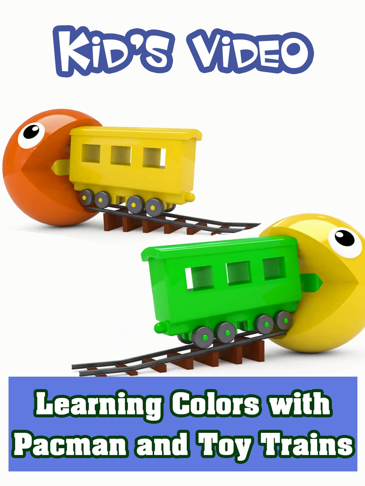 Learning Colors with Pacman and Toy Trains on Amazon Prime Instant Video UK