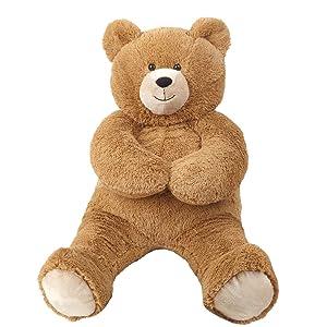 Vermont Teddy Bear Large Stuffed Animals - Large Stuffed Bear, 3 Foot (Tamaño: 3 foot Bear)