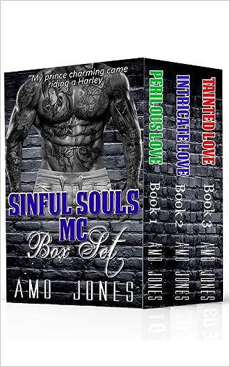 Sinful Souls MC Box Set, (#1-3) written by Amo Jones
