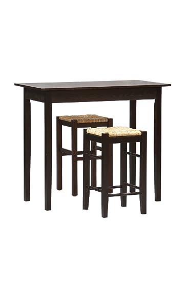 Linon Tavern Three Piece Counter Set