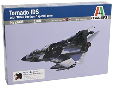 Italeri - I2668 - Maquette - Aviation - Tornado Ids Black Panthers - Echelle 1:48
