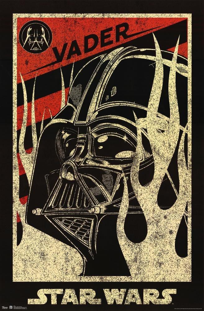 Star Wars Darth Vader Propaganda Movie Poster 22 x 34in 0