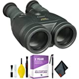 Canon 15x50 is All-Weather Image Stabilized Binocular + Cleaning Kit + 2 Year Extended Warranty (Color: Base Kit, Tamaño: 15x50)