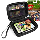 FitSand Hard Case for Mattel Uno Minecraft Card Game Travel Zipper Carry EVA Hard Box