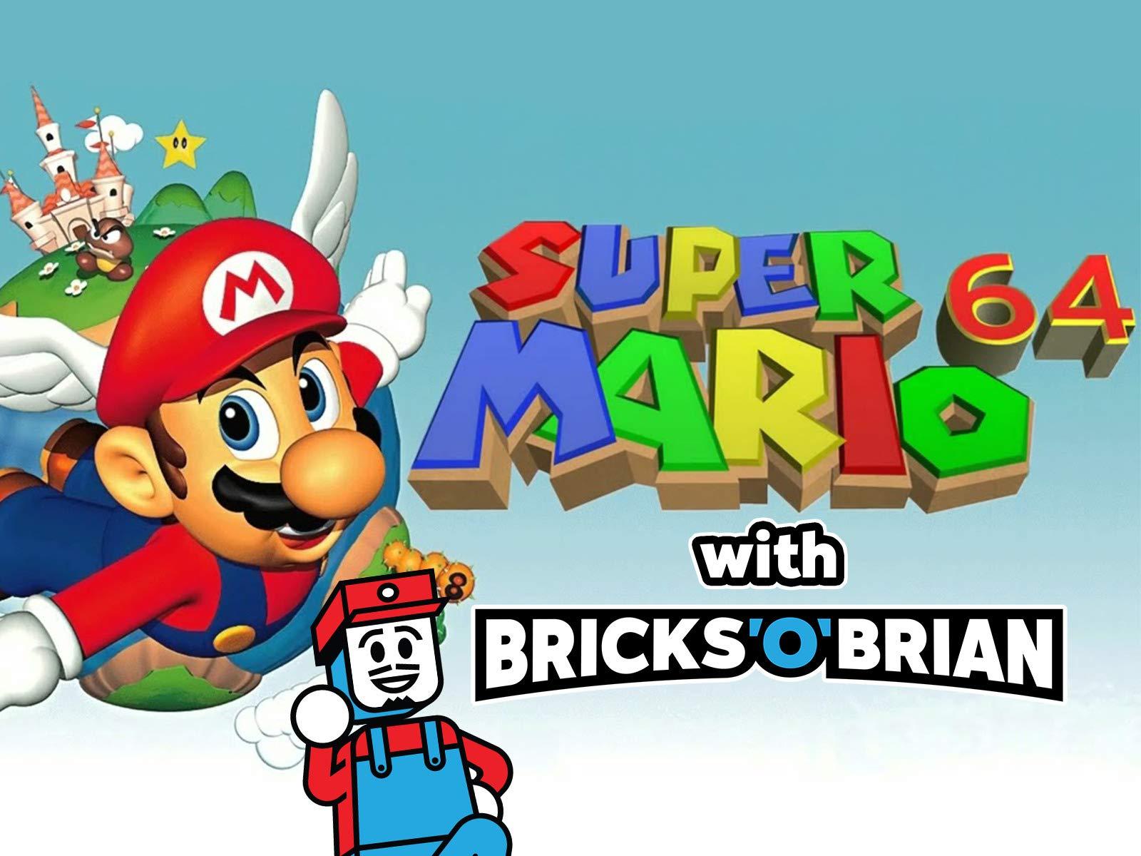 Clip: Super Mario 64 with Bricks 'O' Brian! - Season 1