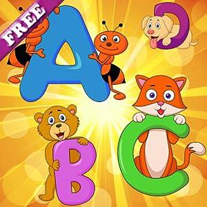 Englisch alphabet für kleinkinder und kinder kostenlos