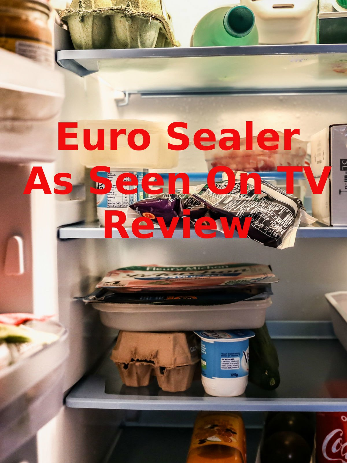 Review: Euro Sealer As Seen On TV Review on Amazon Prime Video UK
