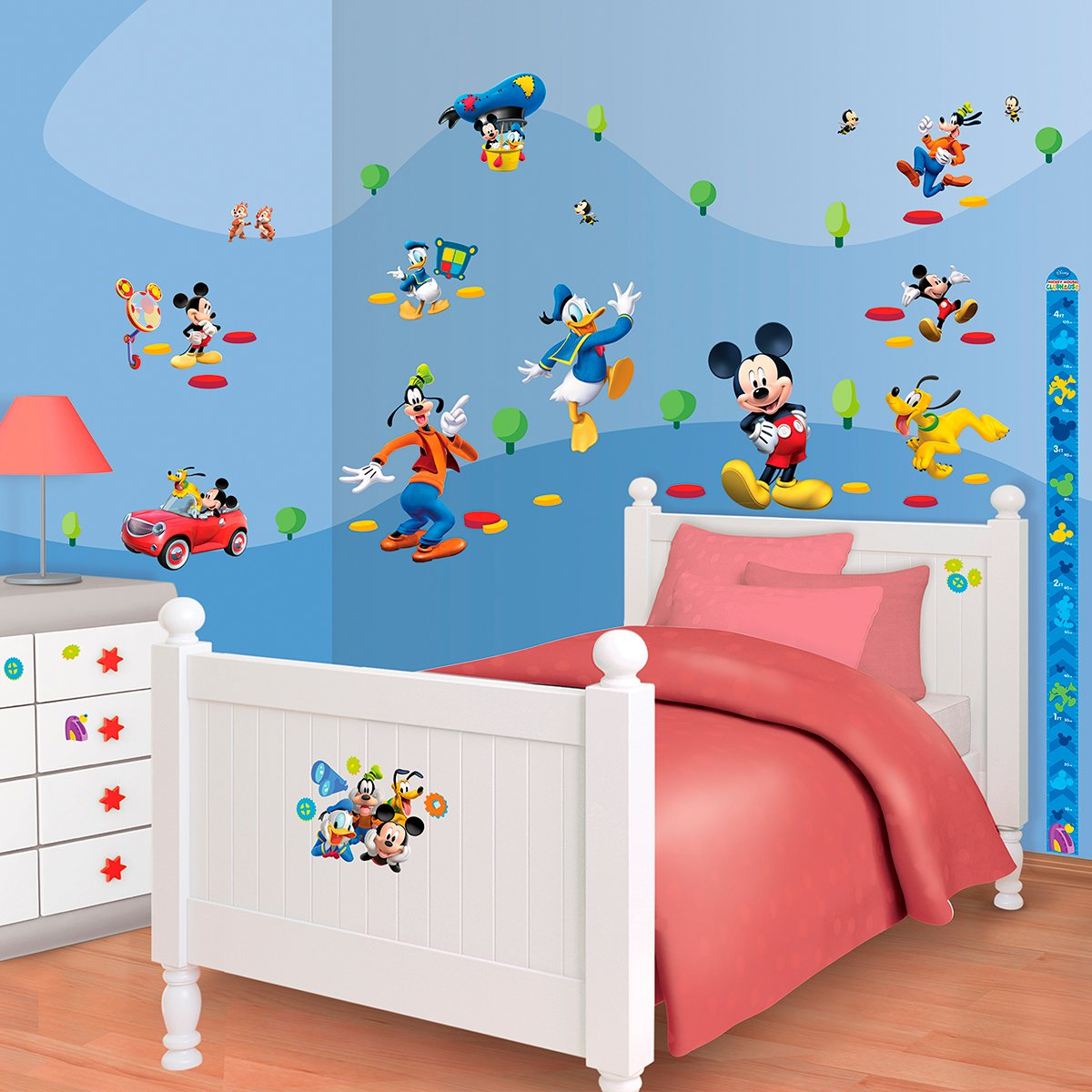Walltastic Mini Kit Disney Mickey Mouse jetzt bestellen