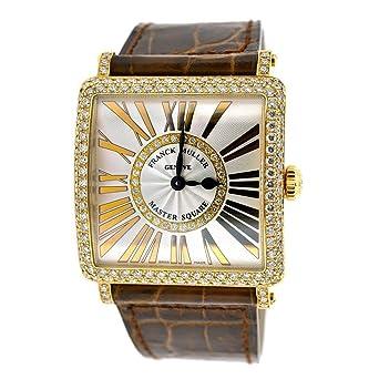 Franck Muller Ladies 18k Rose Gold Master Square 6002 Watch M QZ