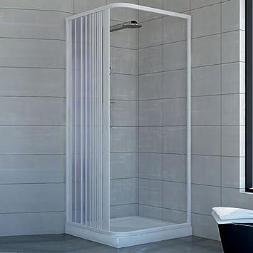 Box doccia 75x75 in pvc mod acquario con apertura - Box doccia fai da te ...