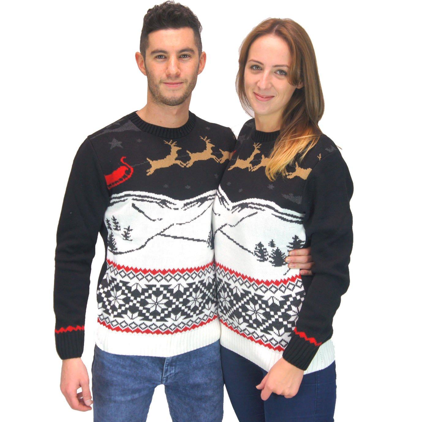 Reindeer Winter Christmas Sweater