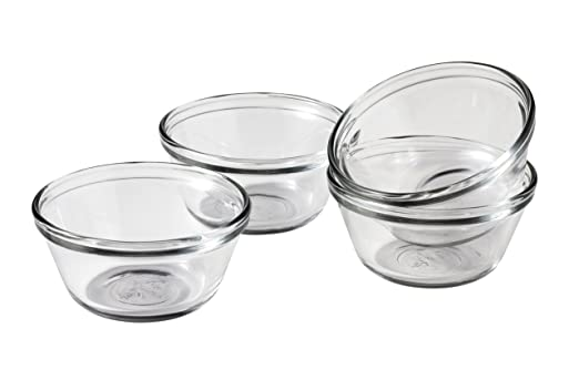 Anchor Hocking 6-Ounce Custard Cups, Set of 4