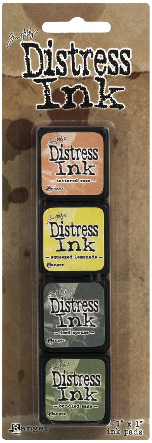 Ranger Distress Mini Ink Kit, 10 ranger eod
