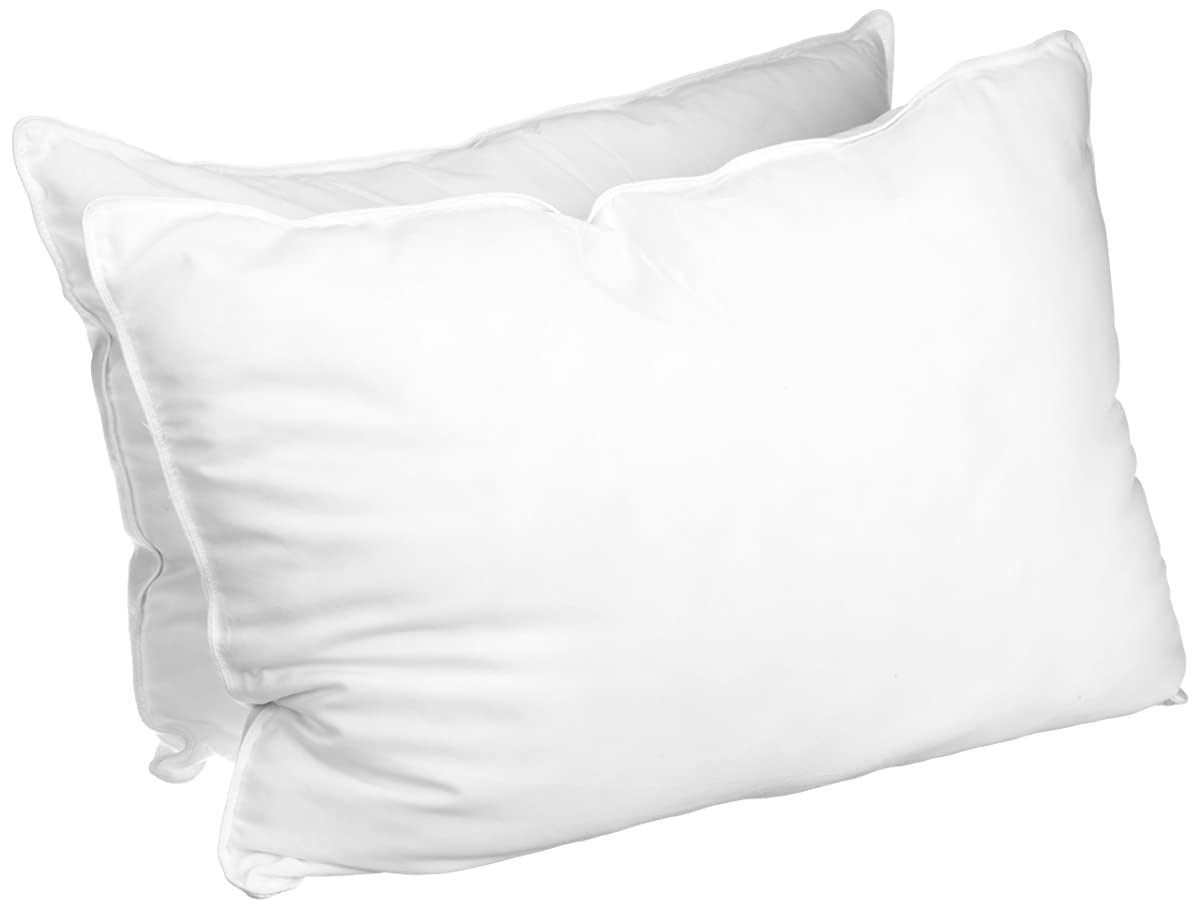 Superior White Down Alternative Pillow 2 Pack Premium
