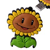 D-CLICK TM 4GB/8GB/16GB/32GB/64GB/Cool USB High speed Flash Memory Stick Pen Drive Disk (16GB, Sunflower)