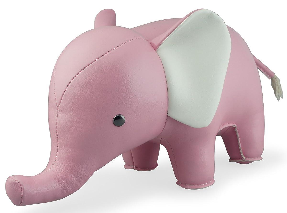 Zuny Classic Series Elephant Pink Animal Bookend