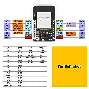 ESP32 Camera WiFi+Bluetooth Module 4M PSRAM ESP32 5V Low-Power Dual