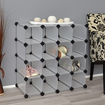 regal schrank steckregal standregal schuhregal wandregal flurschrank wei us99. Black Bedroom Furniture Sets. Home Design Ideas