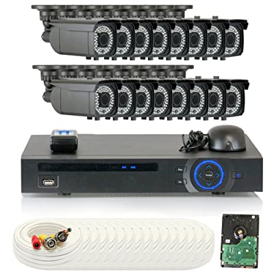 GW Security Video Security Camera System