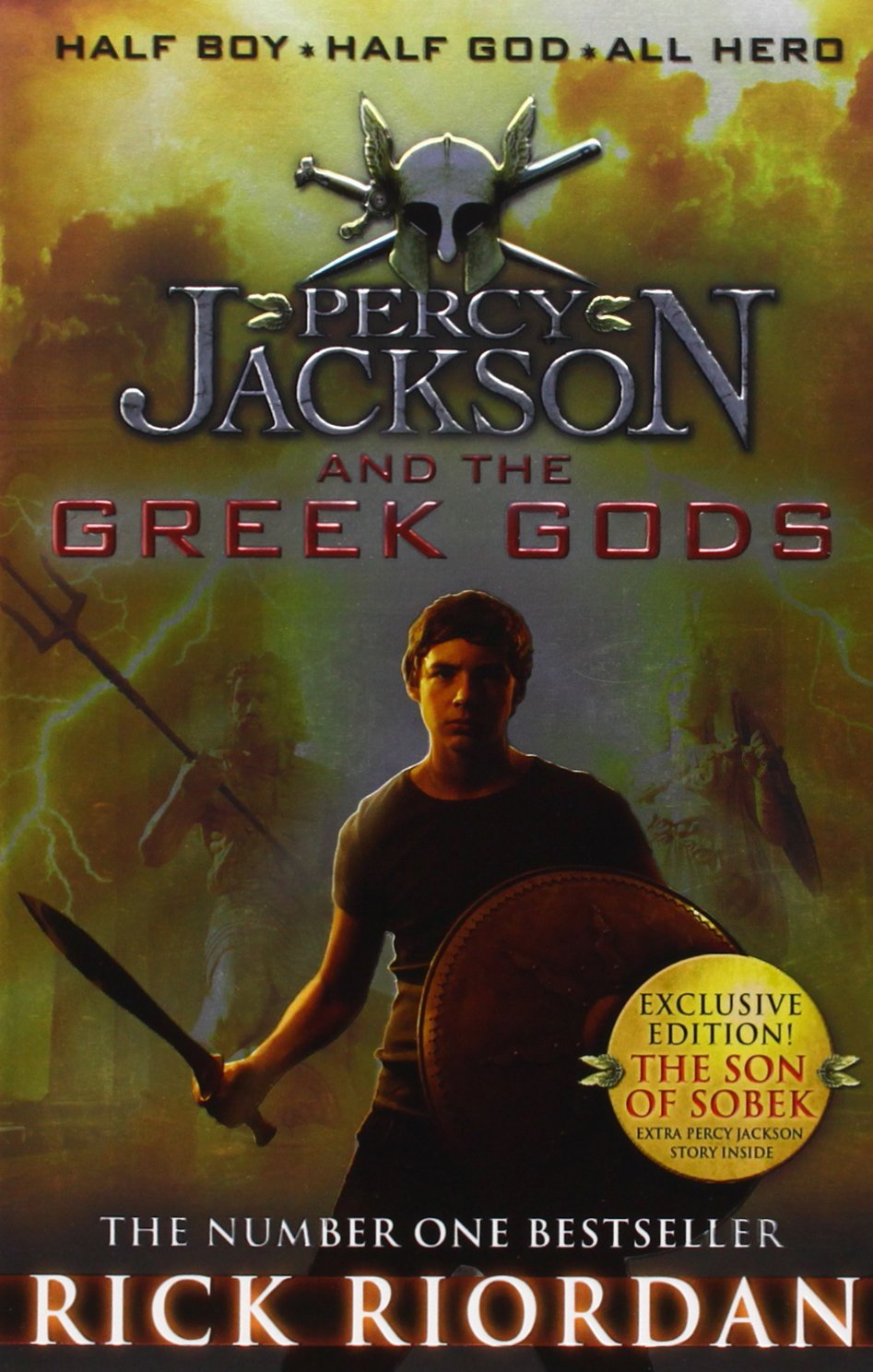 Buy Percy Jackson and the Greek Gods Book Online at Low Prices in ...