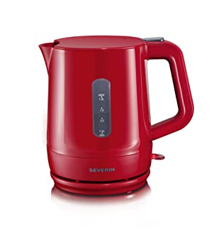 SEVERIN Wasserkocher Wasserkessel Teekocher Kaffee »START« WK 3389 weiß-grau