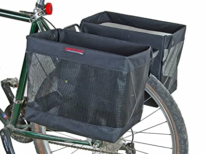 Bikes With Basket On Back Rack Basket Bike Rear Bag