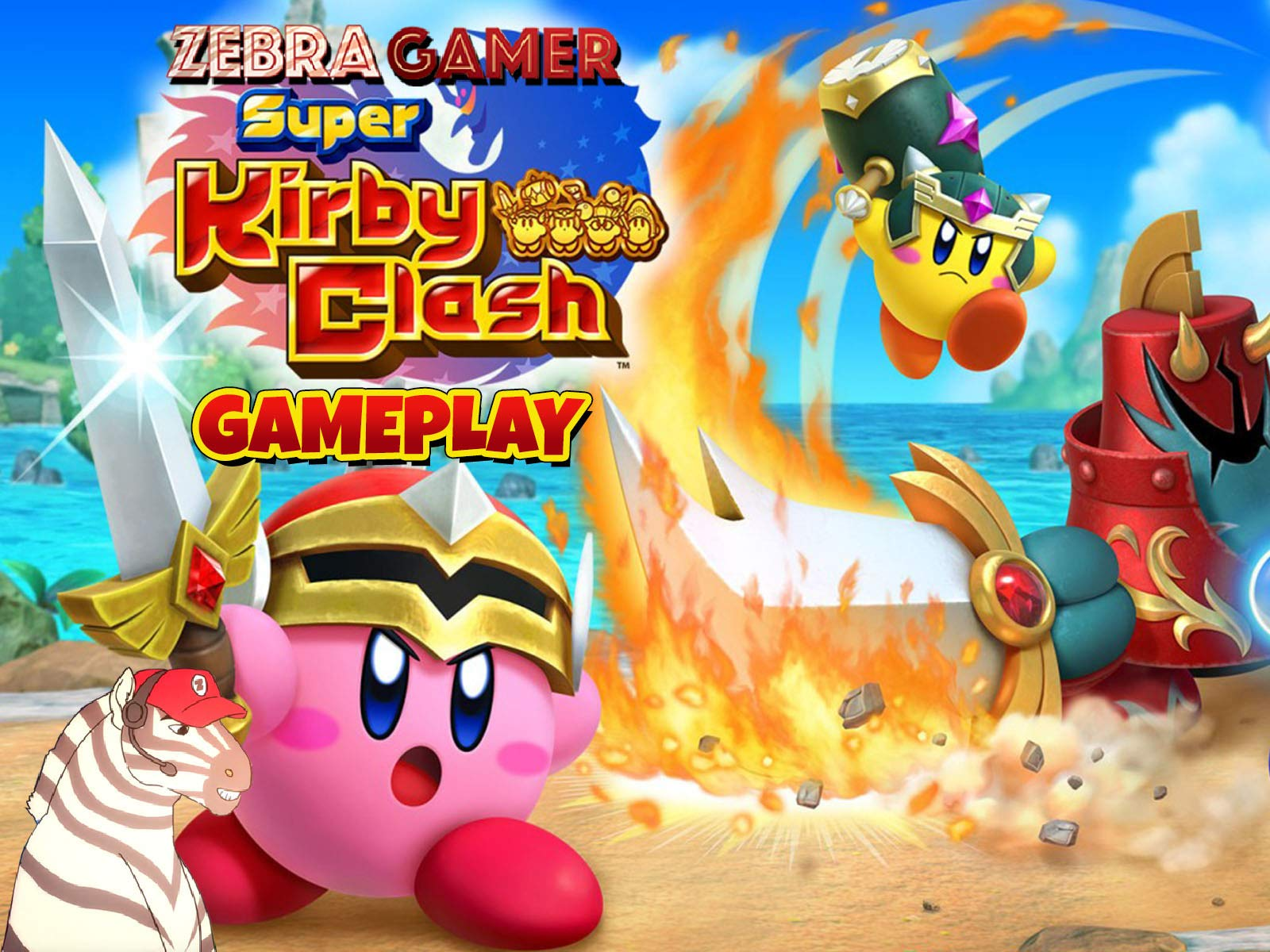 Clip: Super Kirby Clash Gameplay - Zebra Gamer on Amazon Prime Instant Video UK