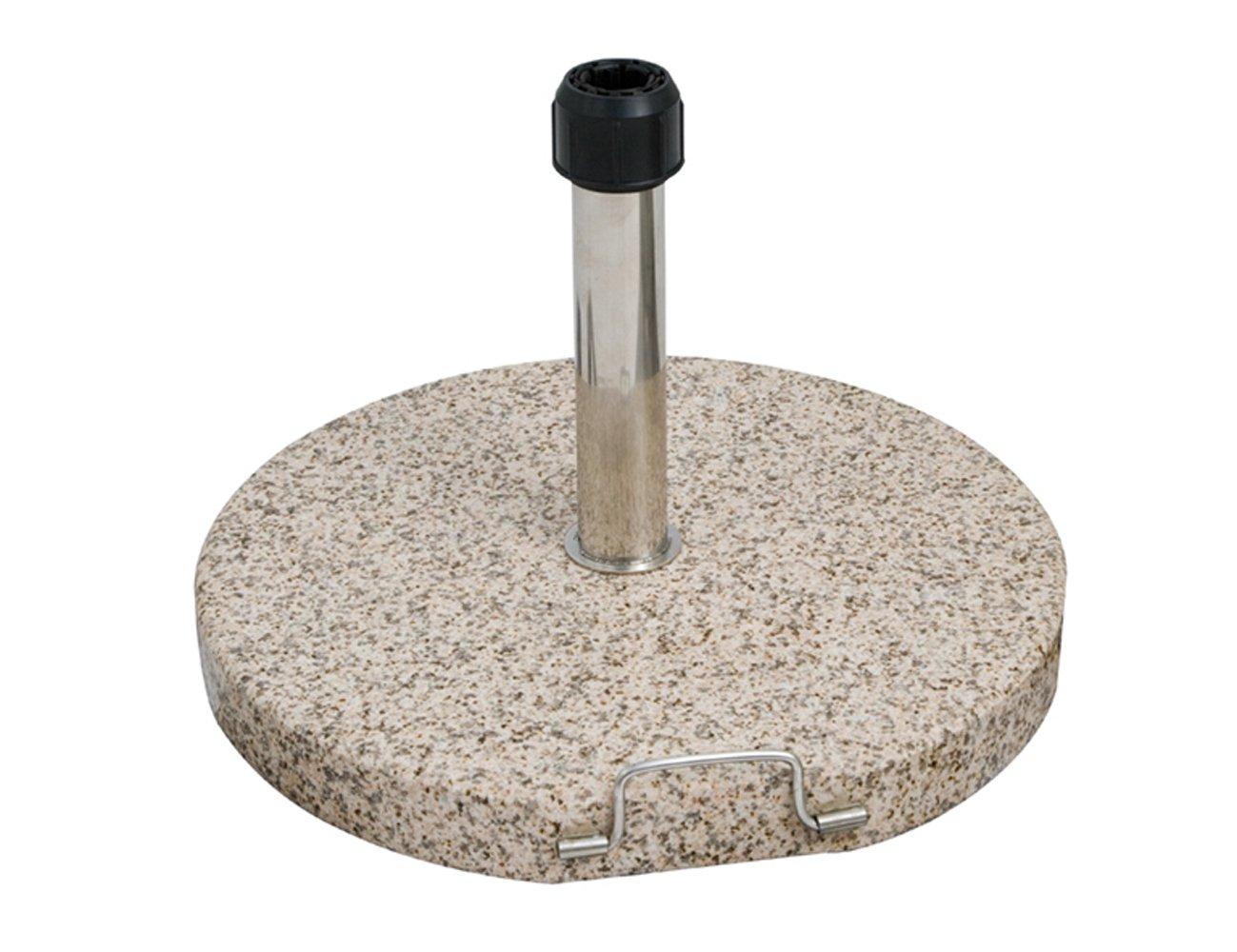 Siena Garden Granitschirmständer, für Schirmstöcke Ø 35-55 mm, mit Griff und Rolle online kaufen