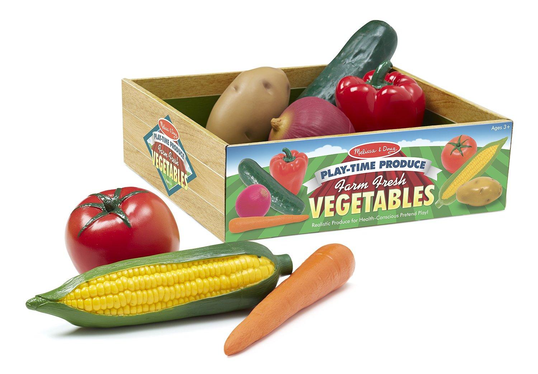 pretend food melissa and doug vegetables toddlers preschoolers