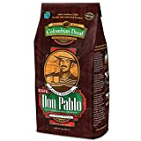 2LB Cafe Don Pablo Decaf Swiss Water Process Colombian Gourmet Coffee Decaffeinated - Medium-Dark Roast - Whole Bean Coffee - 2 Pound (2 lb) Bag (Color: Brown, Tamaño: 2 Pounds)