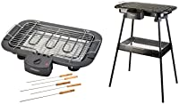 SHEFFIELD CLASSIC 200-Watt Barbeque Grill with Stand (Black)